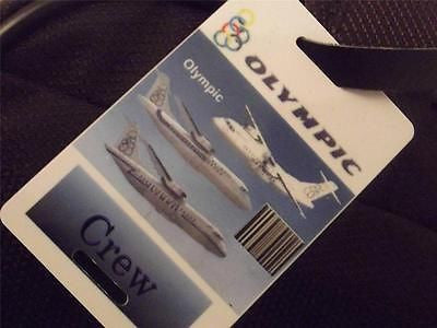 Novelty Luggage Crew Tags - Olympic Crew -  Inflightgoods