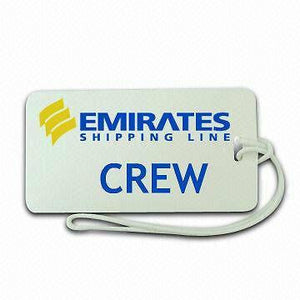 Novelty Emirates containers shipping  First Class Luggage tag   Crew  ,Airplane