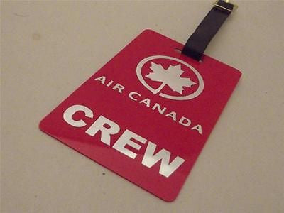 Novelty Luggage Crew Tags - Air Canada Crew -  Inflightgoods