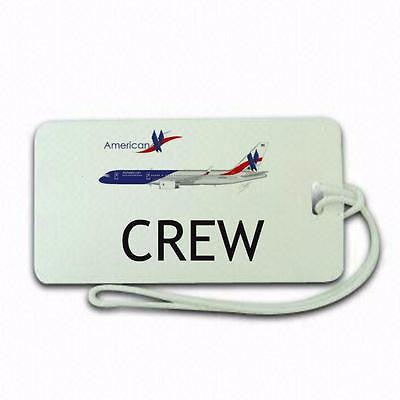 united Airlines type 1 luggage tags crew.airports .airline crew -  Inflightgoods