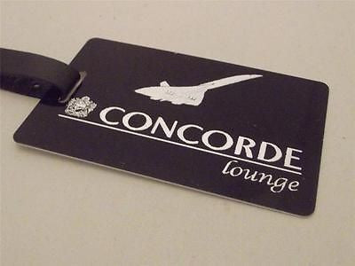 Novelty Luggage Crew Tags - Black, Concorde Lounge -  Inflightgoods