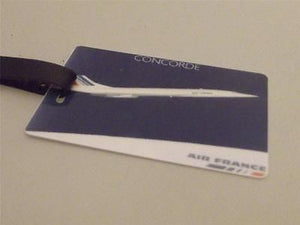 Novelty Luggage Crew Tags - Concorde Air France (Style 4) -  Inflightgoods