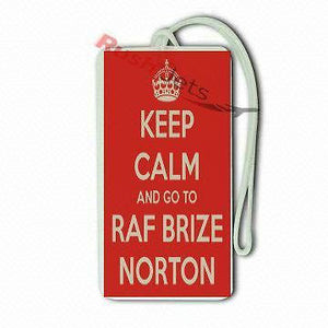 Novelty  Luggage Keep Calm  R.A.F Brize Norton -  Inflightgoods
