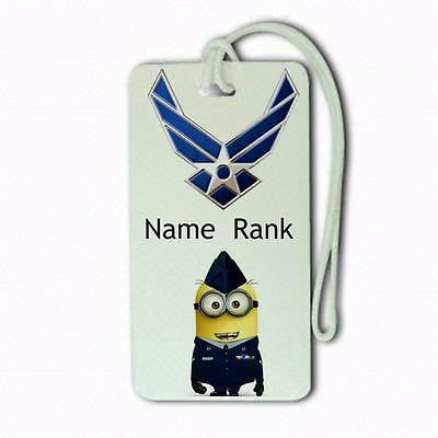 UNSF Minion  luggage tags crew.airports .airline crew