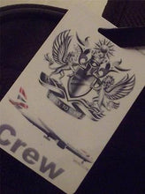 Novelty Luggage Crew Tags - British Airways Crew with Boeing (White)