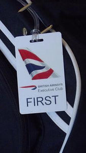 Novelty British Airways  First Class Luggage tag   Crew  ,Airplane