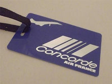 Novelty Luggage Crew Tags - Concorde, Air France, Blue (Style 3)
