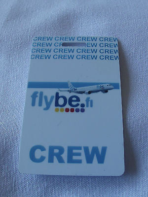 Novelty  FLYBE.com  luggage tags FIRST CLASS < CREW -  Inflightgoods   - 7