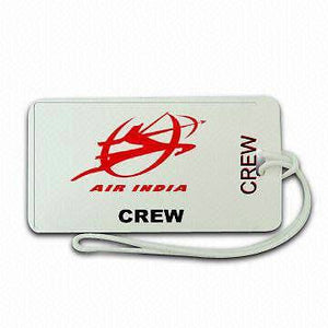NOVELTY LUGGAGE TAG  AIR  INDIA -  Inflightgoods