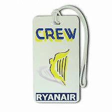 Novelty Ryan Air Airline Luggage tag   Crew  ,Airplane