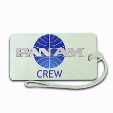 Novelty Pan Am Luggage tag  Crew .airports .airline crew 1