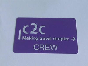 Novelty CREW LUGGAGE Tagg  C2C CREW -  Inflightgoods   - 1