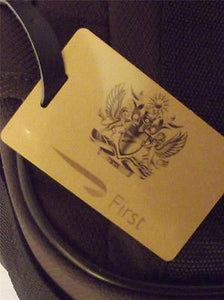 Novelty Luggage Crew Tags - British Airways First Class -  Inflightgoods