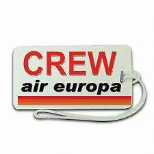 Novelty  Luggage  Air europe Airline Crew 2 ,Airplane -  Inflightgoods