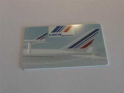 Novelty CREW LUGGAGE Tagg  AIR FRANCE  TAIL LOGO ( crew) -  Inflightgoods   - 1