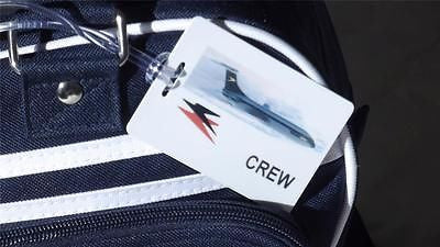 Novelty CREW LUGGAGE TAG  BOAC -  Inflightgoods