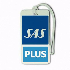 scandinavian airlines plus  pa1 Airports,in pilots.Cabin Crew LUGGAGE  TAG -  Inflightgoods