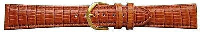 Reptile Tann Grian Calf Leather Padded   Watch Strap 16 mm - G/P  Buckle -  Inflightgoods