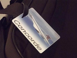 Novelty Luggage Crew Tags - Concorde Flight -  Inflightgoods