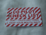 Novelty Luggage Crew Tags - PILOTS Various -  Inflightgoods   - 12
