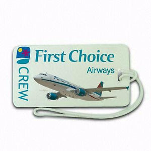 Novelty First Choice  airline  Luggage tag  Crew .airports .airline crew -  Inflightgoods