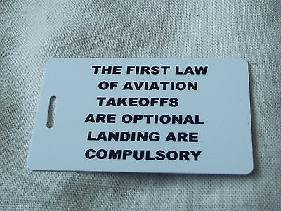 Novelty Luggage Crew Tags - PILOTS Various -  Inflightgoods   - 13