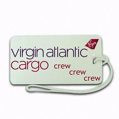 Virgin Airlines cargo Luggage tag  Crew .airports .airline crew -  Inflightgoods