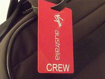 Novelty Luggage Crew Tags - Virgin Australia Crew -  Inflightgoods