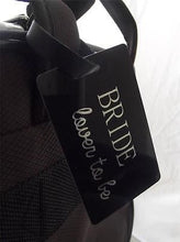 Novelty Luggage Crew Tags - Bride, Lover To Be