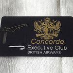 Novelty Luggage Crew Tags - CONCORDE EXECUTIVE CLUB -  Inflightgoods   - 2