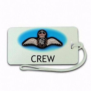 Royal Canadian Air Force  type 2 Tag Airports,in pilots.Cabin Crew -  Inflightgoods