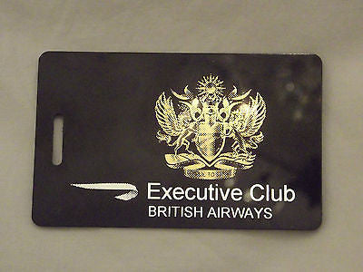 Novelty Luggage Crew Tags  British airways first class , crew  ect -  Inflightgoods   - 1