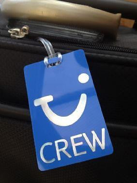 Novelty Thompson Crew  airline  Luggage tag  Crew .airports .airline crew TYPE 2 -  Inflightgoods