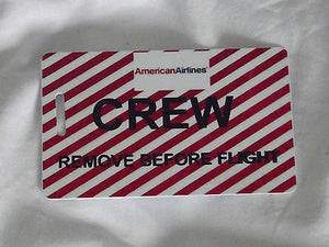 Novelty striped  remove before flight luggage tags -  Inflightgoods   - 3