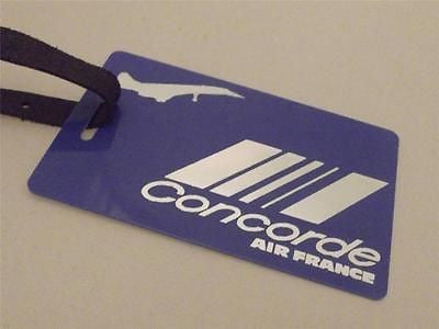 Novelty Luggage Crew Tags - Concorde, Air France, Blue (Style 3) -  Inflightgoods