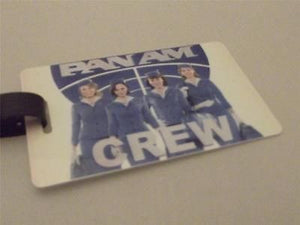 Novelty Luggage Crew Tags - Panam Crew -  Inflightgoods