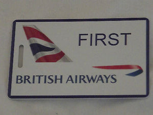 Novelty Luggage Crew Tags  British airways first class , crew  ect -  Inflightgoods   - 4