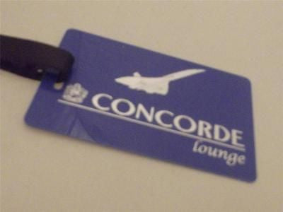 Novelty Luggage Crew Tags - Concorde Lounge, Blue, Style 3 -  Inflightgoods