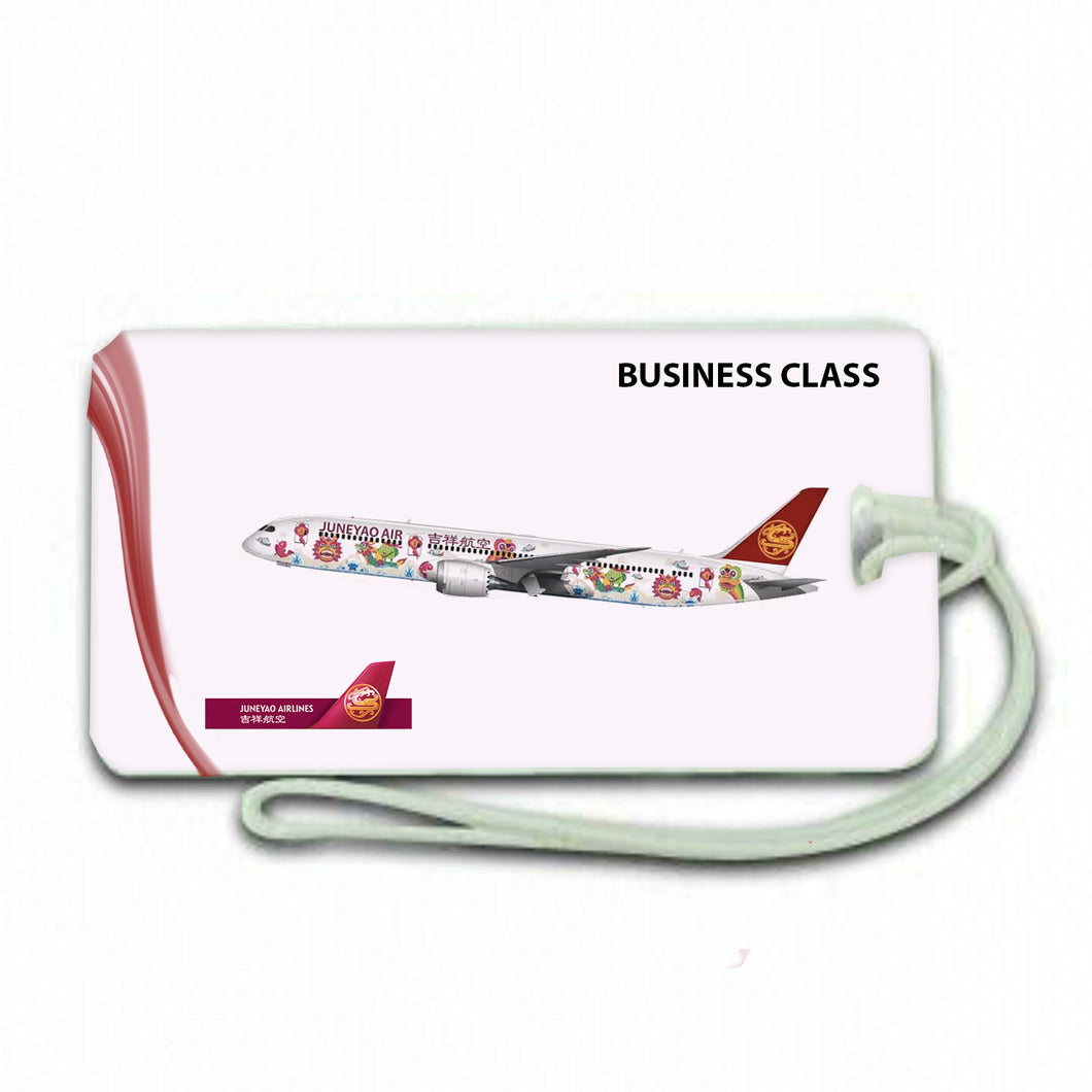 Business Class JUNEYAO  Airlines Luggage .airports