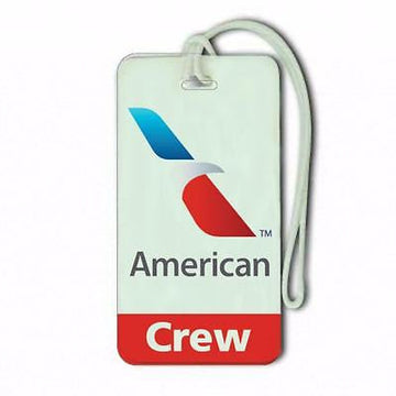 Novelty American Airways    Luggage Crew Tags -