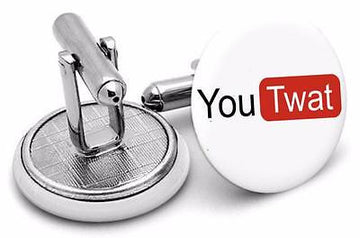 You Tw funny  adult  Mens   Cufflinks