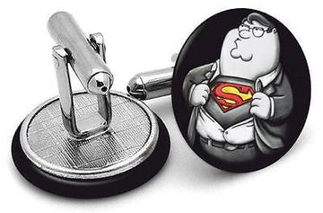 Super Dad  Handmade cufflinks