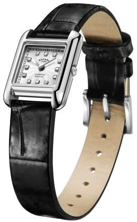 Rotary | Ladies Black Leather | LS05285/70/D