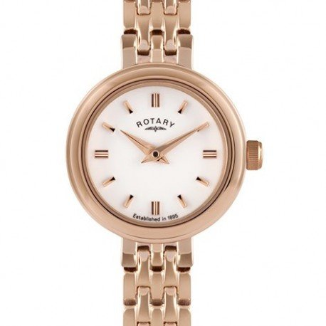 Rotary Ladies Rose Gold Watch Lb02088/02