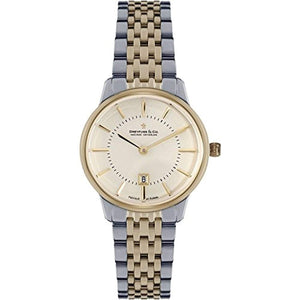 Dreyfuss Womens Analogue Classic Quartz Watch with Stainless Steel Strap DLB00135/41