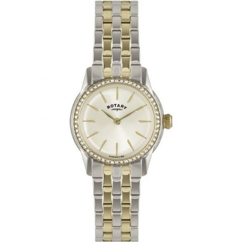 Rotary Ladies 'Watch XS Analog Quartz Stainless Steel Coated LB02571/03L