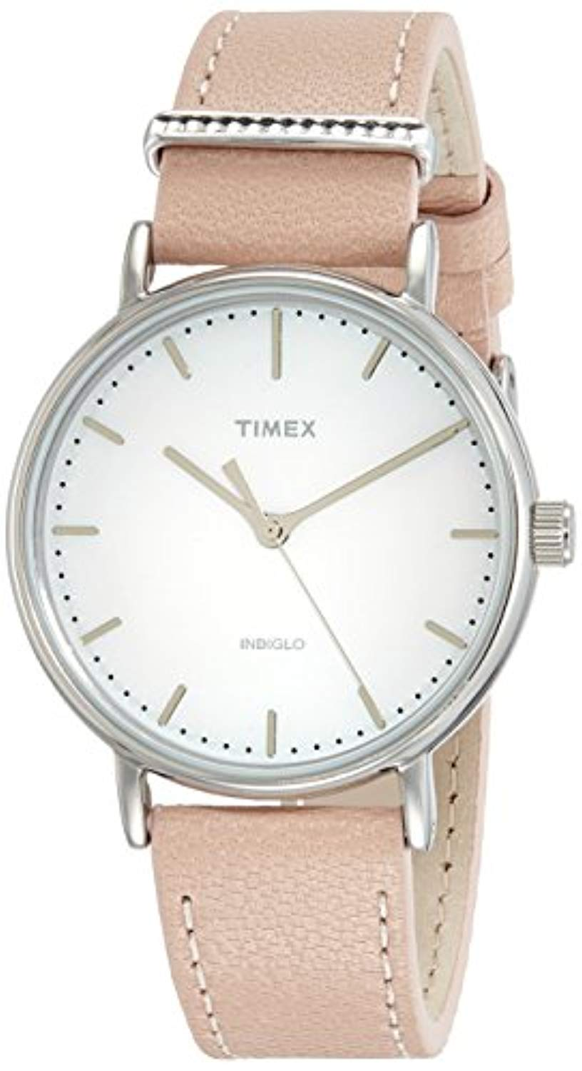 Timex B07BTPWC2B Analog White Dial Women's Watch-TW2R70400