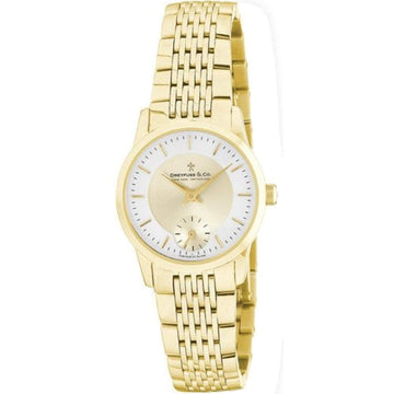 Dreyfuss & Co DLB00002 – 03 – Wristwatch women's, stainless steel strap