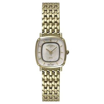 Rotary Ladies Gold Plated Slim LB08102/40
