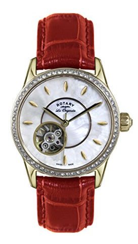 Rotary Ladies'Watch XS Analogue Automatic Leather JURA LS90513 / 41